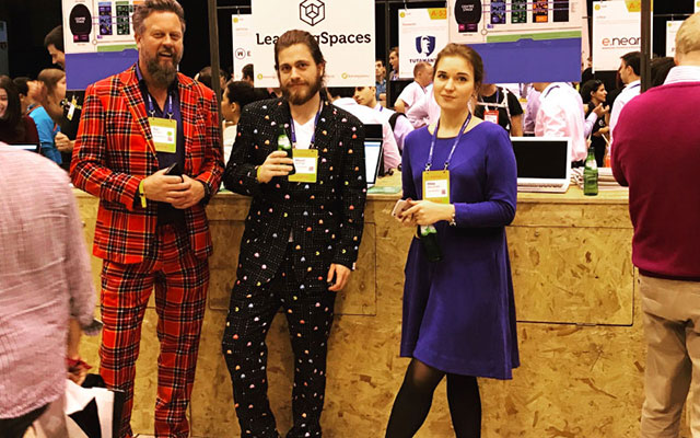 LearningSpaces op Websummit 2016